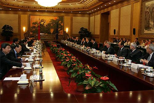 Cimeira China-UE, Pequim, Setembro, 2005