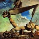 Premonição da Guerra Civil, 1936, Salvador Dali