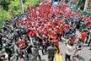 Manifestação anti-Asean - Pattaya - Tailândia