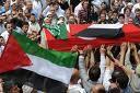 Turquia - Funeral das vítimas do ataque israelita a barco com ajuda humanitária para Gaza
